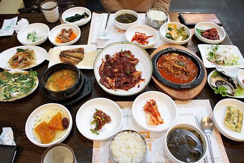 竹香韩定食