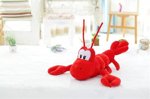 特色龙虾玩偶