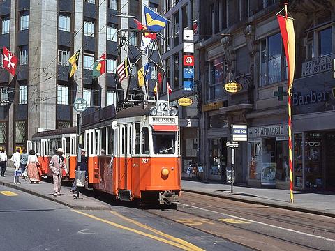 Rue de la Confederation 步行街旅游景点图片