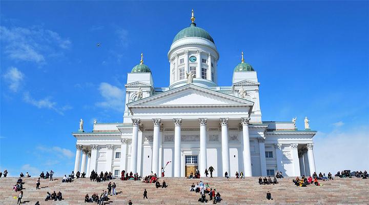 赫尔辛基大教堂旅游图片