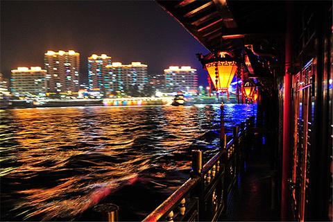 夜游千岛湖