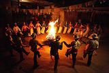 烤羊篝火晚会