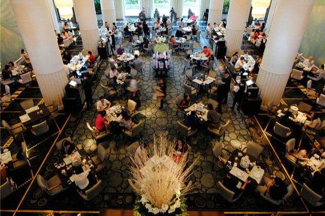 半岛酒店The Lobby