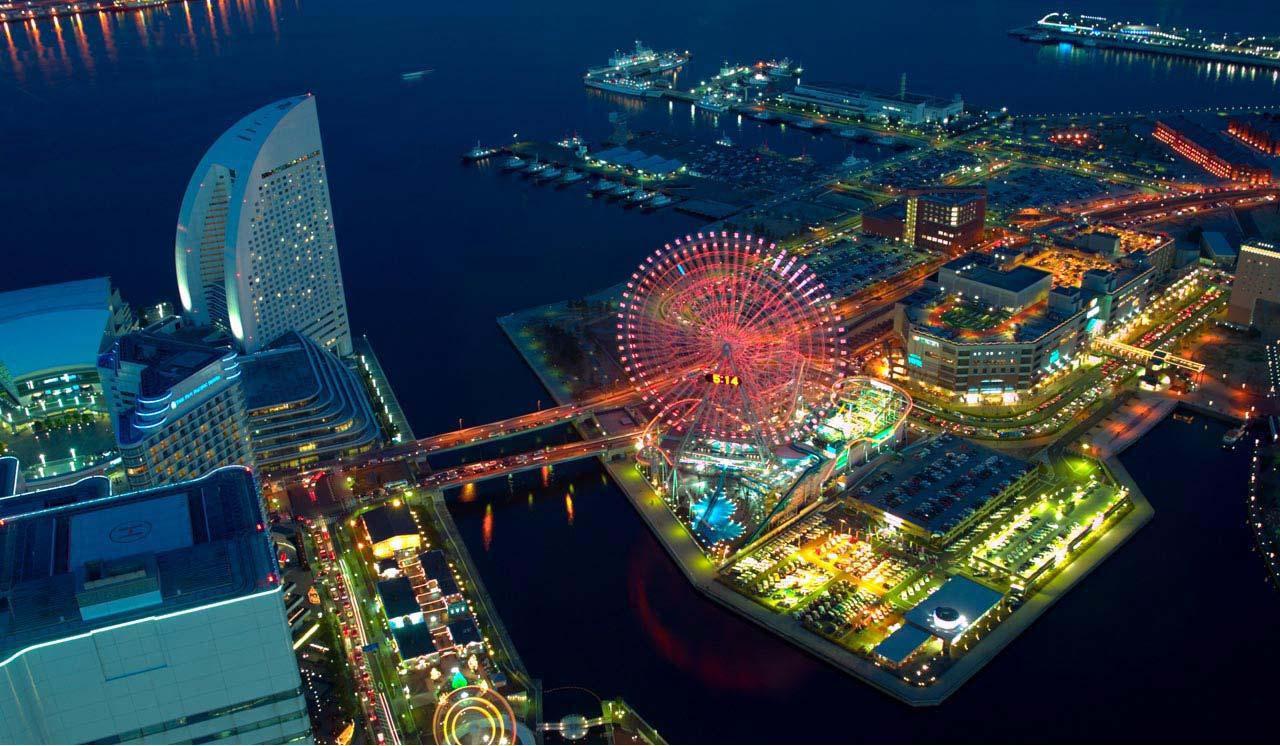 横滨缤纷一日游