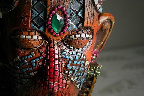 毛利艺术品