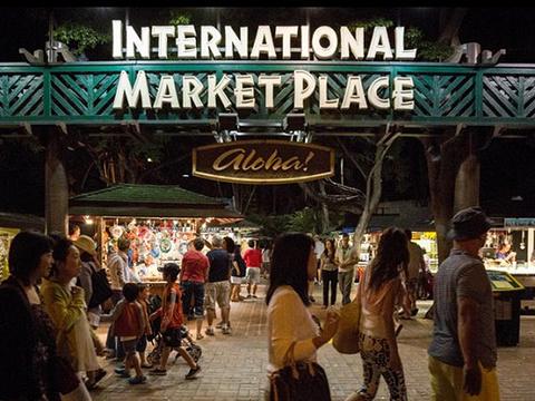 国际市场旅游景点图片