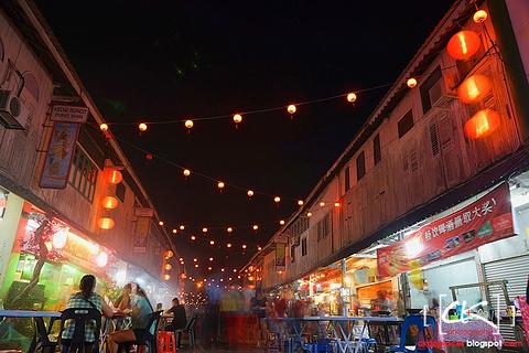 新尧湾老街夜市旅游景点攻略图