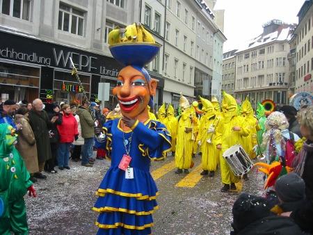 巴塞尔狂欢节(Basel Fasnacht)