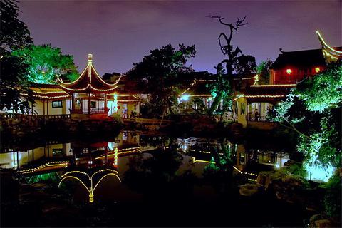 夜游网师园