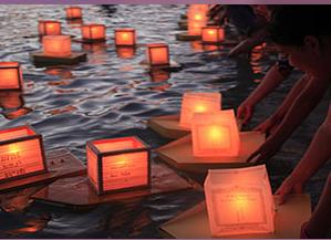 水灯节 Lantern Floating