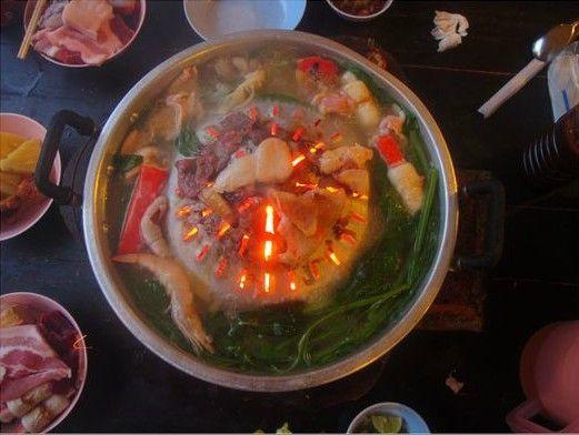 老挝自助火锅