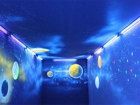 盛幻泰迪熊夜光3D艺术馆旅游景点图片