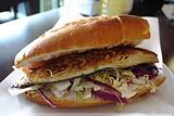 烤鱼汉堡(鱼面包)
