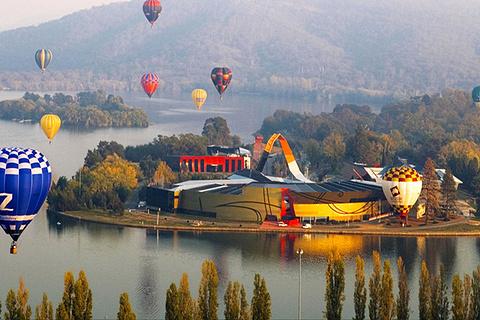 堪培拉热气球之旅