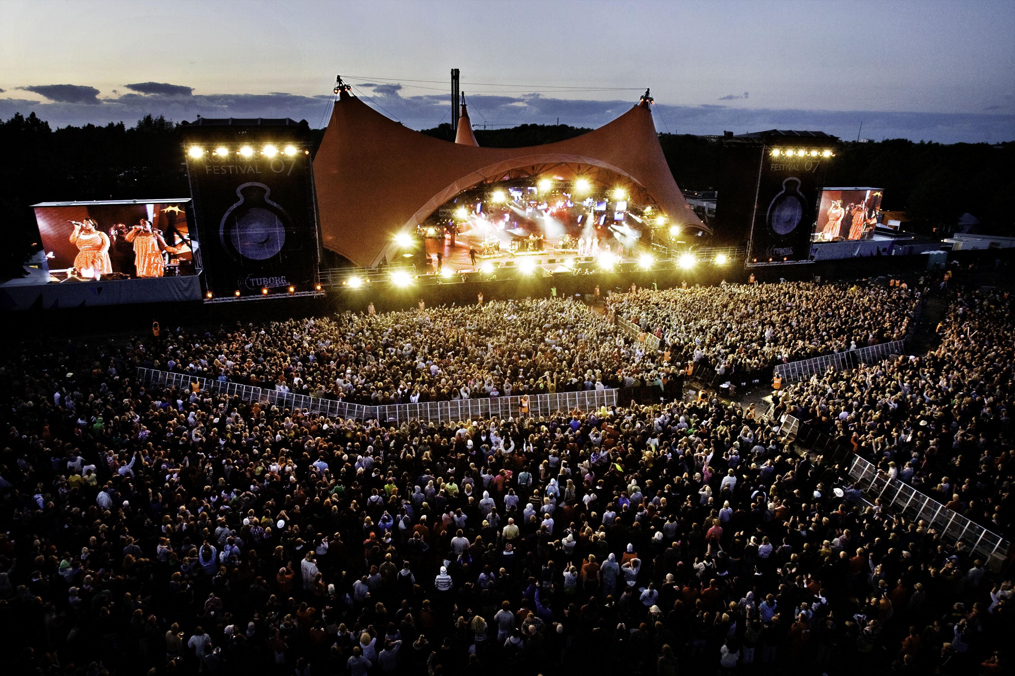 罗斯基勒音乐节(Roskilde Festival)