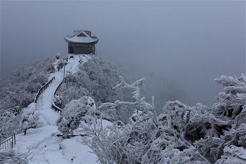 五雷山风景区旅游景点攻略图