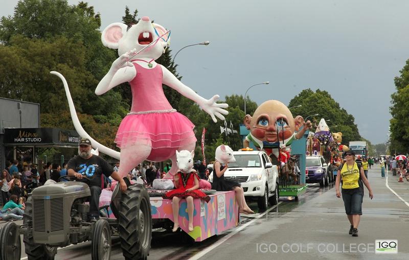 基督城圣诞大游行Christchurch Santa Parade