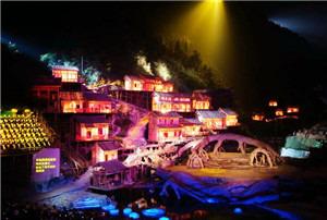 天门狐孤峡谷大剧院