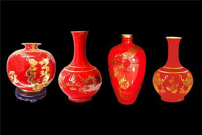 中国红瓷器专卖店