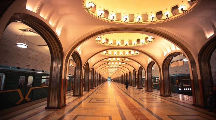 莫斯科地铁旅游图片