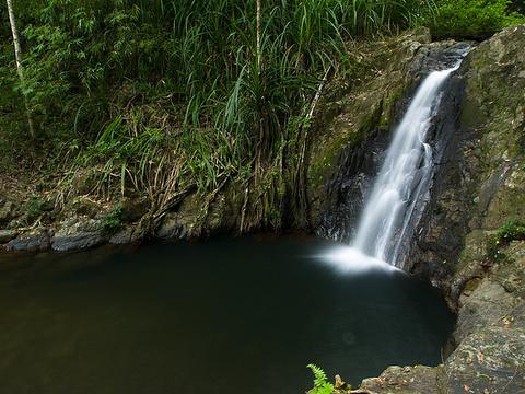 布拉拉考瀑布旅游景点图片