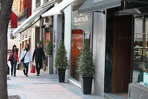 德孔波斯特拉古城中央购物区旅游景点攻略图