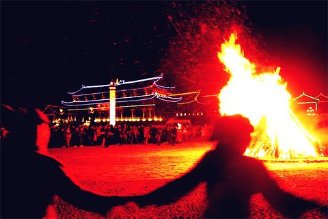 洞天篝火晚会的图片