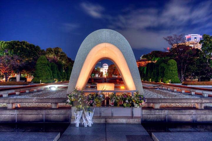 """""""如果要了解这座城市,那么和平纪念公园就是..._和平纪念公园""""的评论图片"""