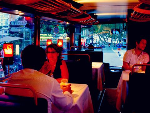 光轨电车餐厅旅游景点图片