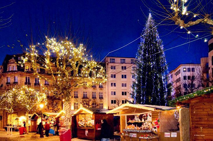 圣诞市场和灯展