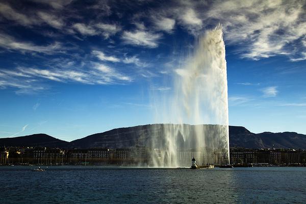 人工喷泉旅游图片