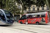 乘坐观光巴士