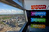 城市电视塔观景走廊