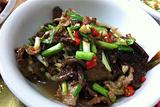 野枞菌炒肉