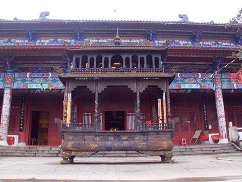 石鼓寺旅游景点图片