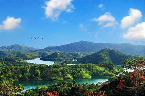红花湖的图片