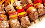 火烤鸡肉串