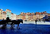 马车游览旧城区