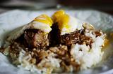 Loco Moco 米饭汉堡
