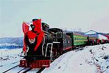 亚布力森林小火车