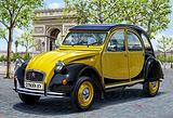 波尔多2cv 复古汽车体验