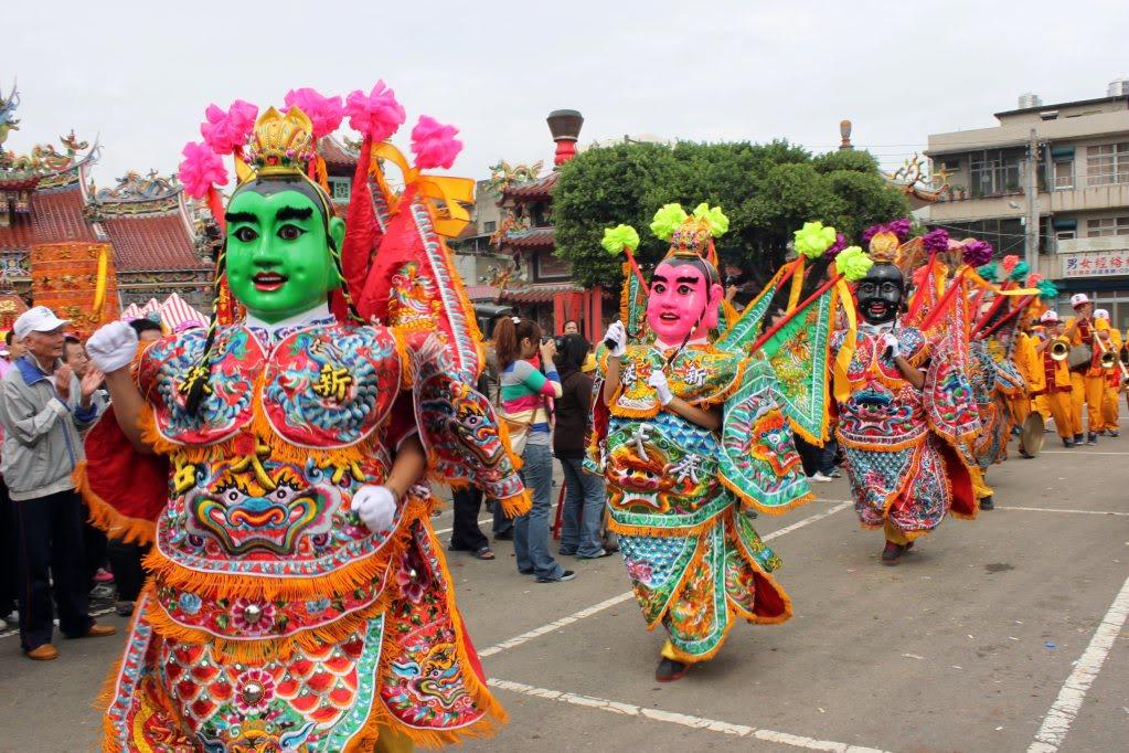 彰化县妈祖绕境祈福活动