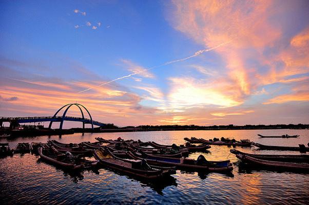 王功渔港旅游图片