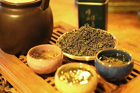 崂山云峰茶