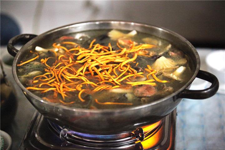 野生菌火锅