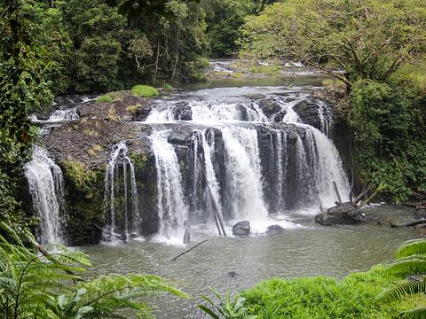 沃雷切尔瀑布旅游景点图片