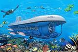 鲸鱼潜水艇