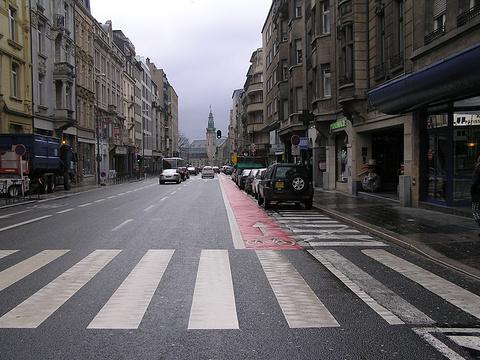 卢森堡自由大街旅游景点图片