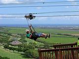飞跃夏威夷高空滑索