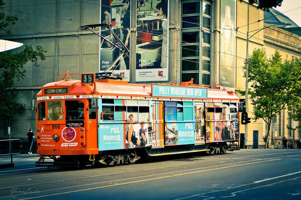 墨尔本免费电车一日游